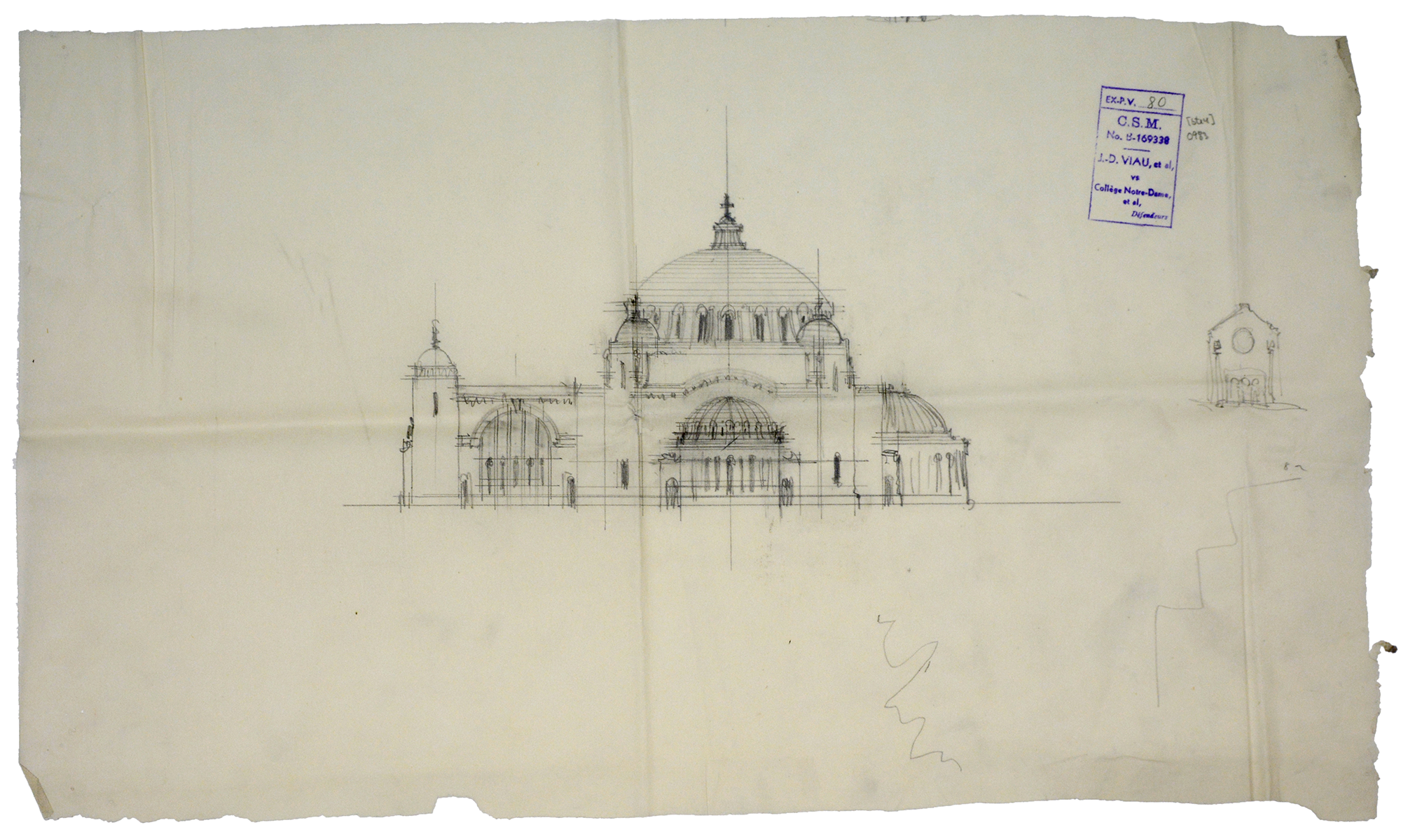 La basilique imaginaire - La crypte - document no 0983